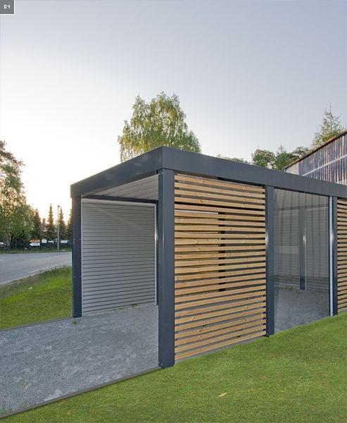 Viel Mehr Als Ein Carport Carport Modern Hauswand Carport