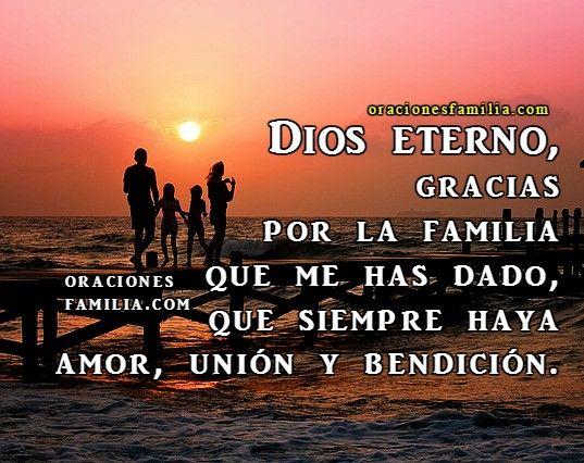 Gracias Por Mi Familia Dios Oracion Cristiana Oración Por