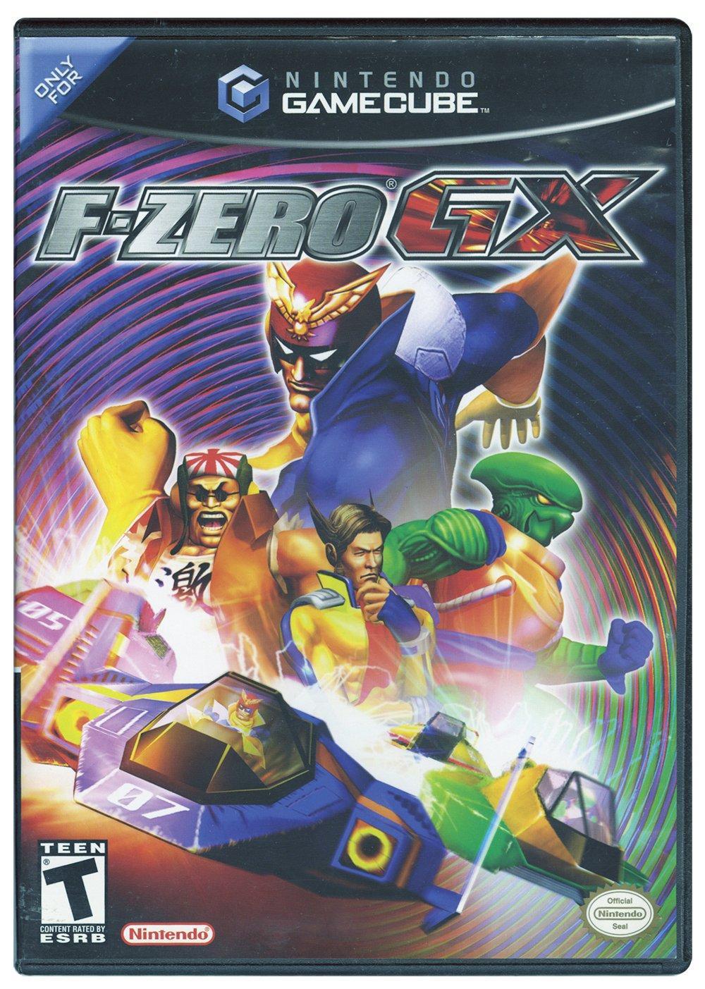 F Zero Gx Game Cube Gamestop Nintendo Gamecube Games Gamecube Games Gamecube