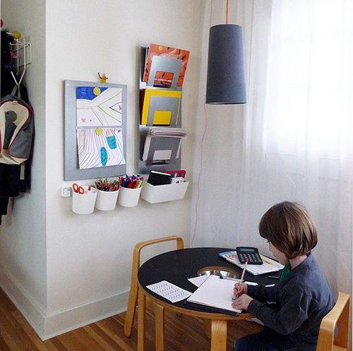 Bedroom Art Supplies: KokokoKIDS: Kids Craft Area And Art Supplies Organization