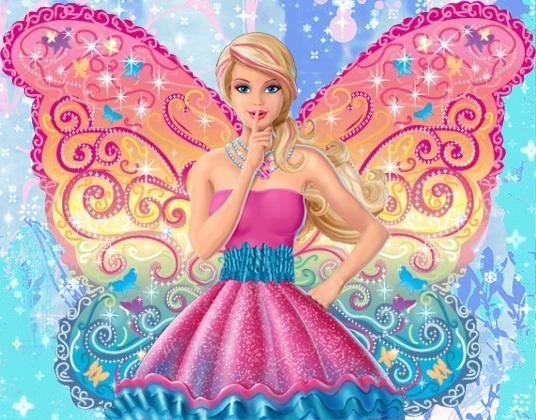Fairy Wallpaper  Barbie A Fairy Secret ~ Cartoon Wallpaper