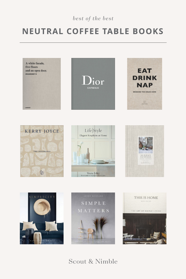 Make A Statement With Curated Coffee Table Books In 2020 Coffee