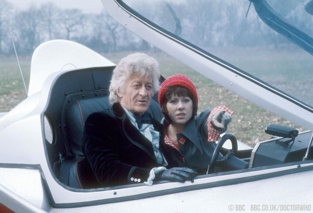 The Third Doctor's final adventure, Planet of the Spiders, began 40 years ago today… http://bbc.in/1naJqs0