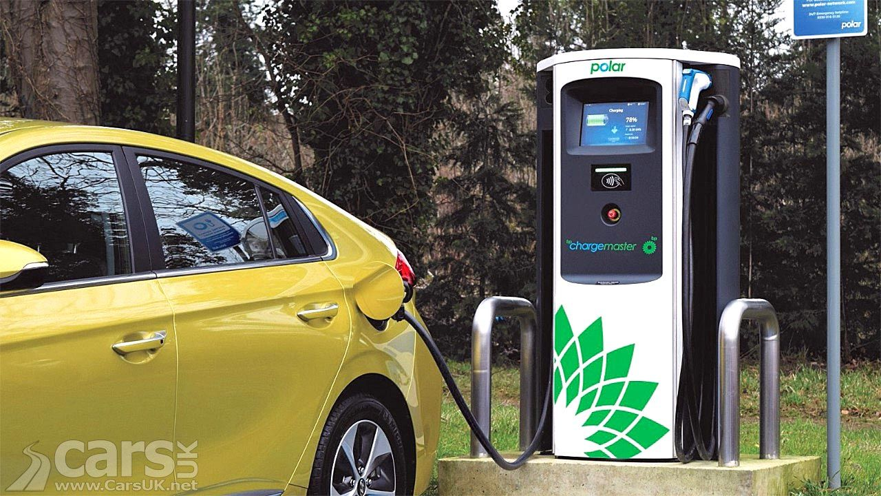BP Chargemaster rolling out 400 150kW electric car