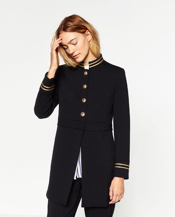 Veste femme style redingote