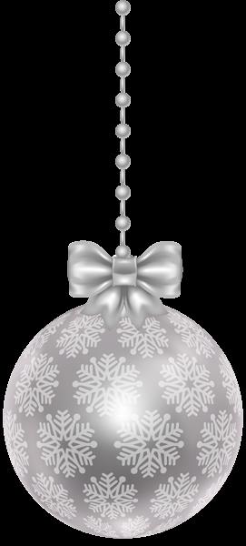 Silver Christmas Ball Transparent Png Clip Art Christmas Balls Christmas Applique Designs Christmas
