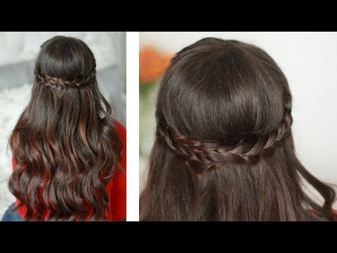 This is a romantic braided hairstyle that works perfectly for an evening out with your girlfriends or a hot date with your honey. For this hairstyle I have used:   - Luxy Hair Extensions - Mocha Brown #1c - 160 g set  http://www.luxyhair.com  - Hair Spray - Intelligent Nutrients  - Hair elastic  - Hair pins  - Cortex curler- 1.5 inch barrel      COMMENT...