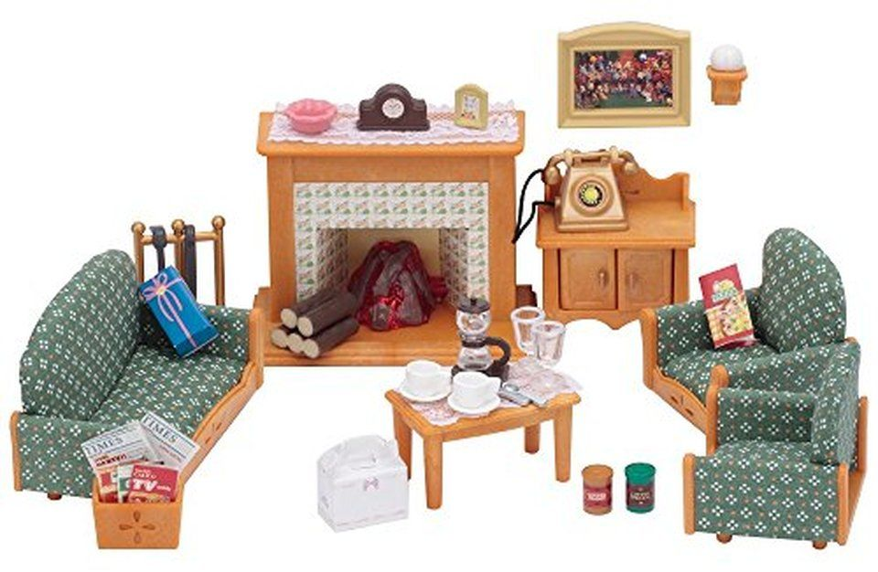 Calico Critters Deluxe Living Room Set In 2020 Living Room Sets Living Room Images Room Set
