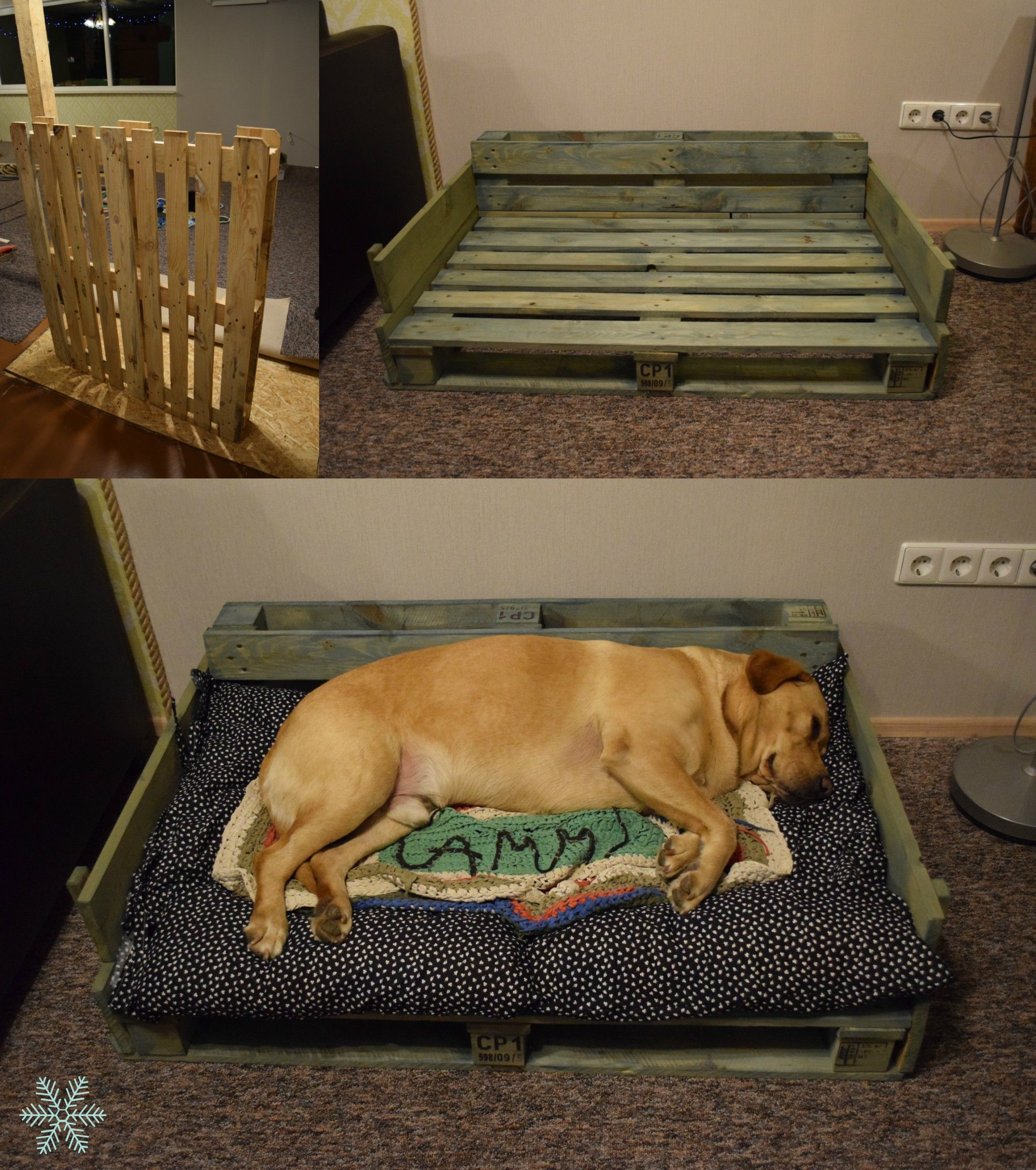 pallet furniture dog bed ideas - Google Search | DIY! | Pinterest | Pallet  furniture, Dog beds and Pallets