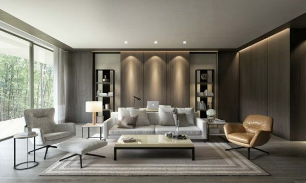 Some Living Room Ornament Ideas In A Contemporary Fashion Living