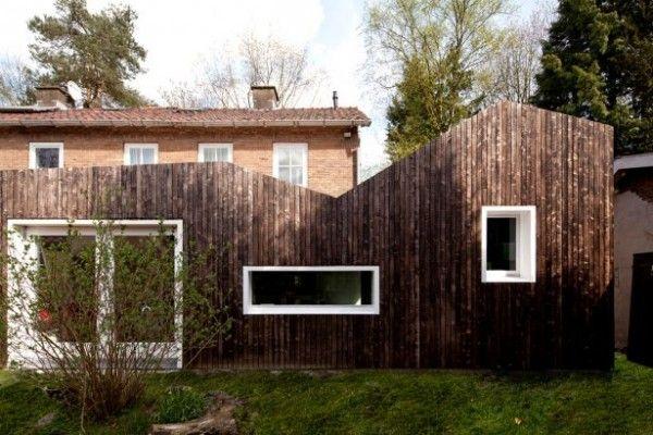 Windows & Siding    Shou Sugi Ban  Maarn, Netherlands  Designed by BYTR Architecten