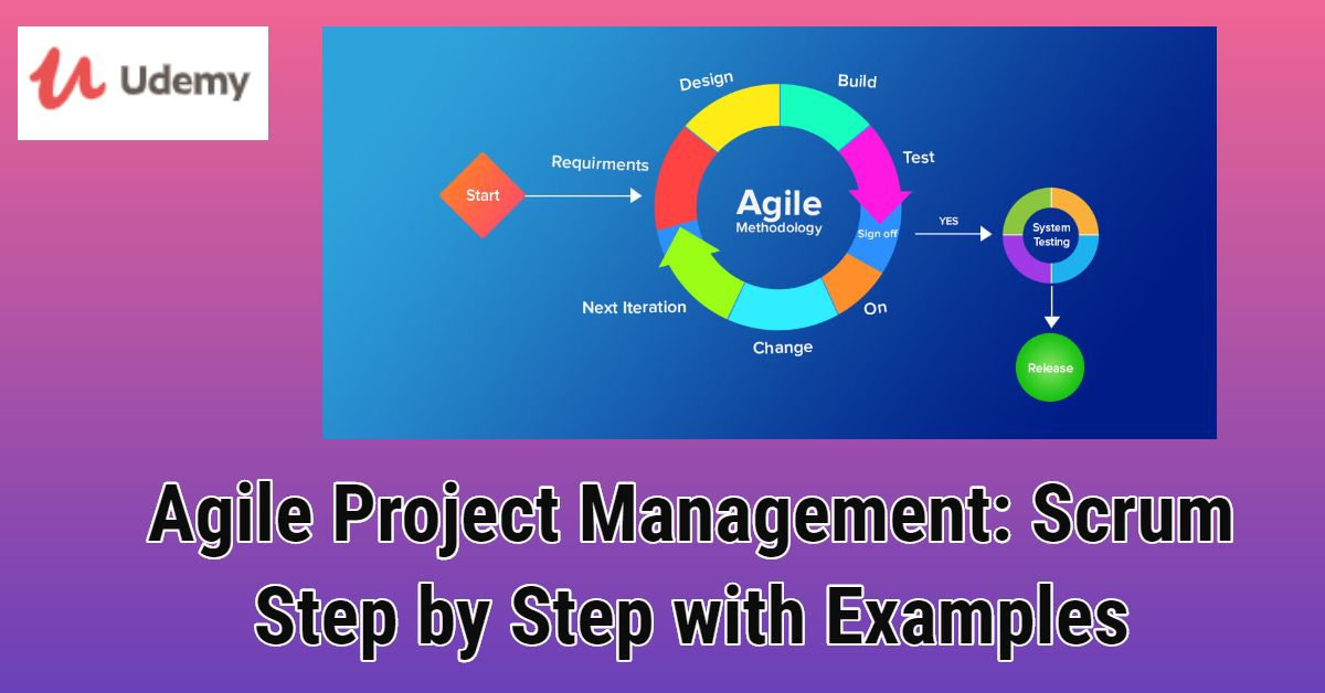 Agile Project Management Scrum Step By Step With Examples Free Agile Project Management Project Management Management