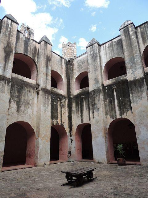 En el interior del Ex- Convento  San Bernardino de Siena