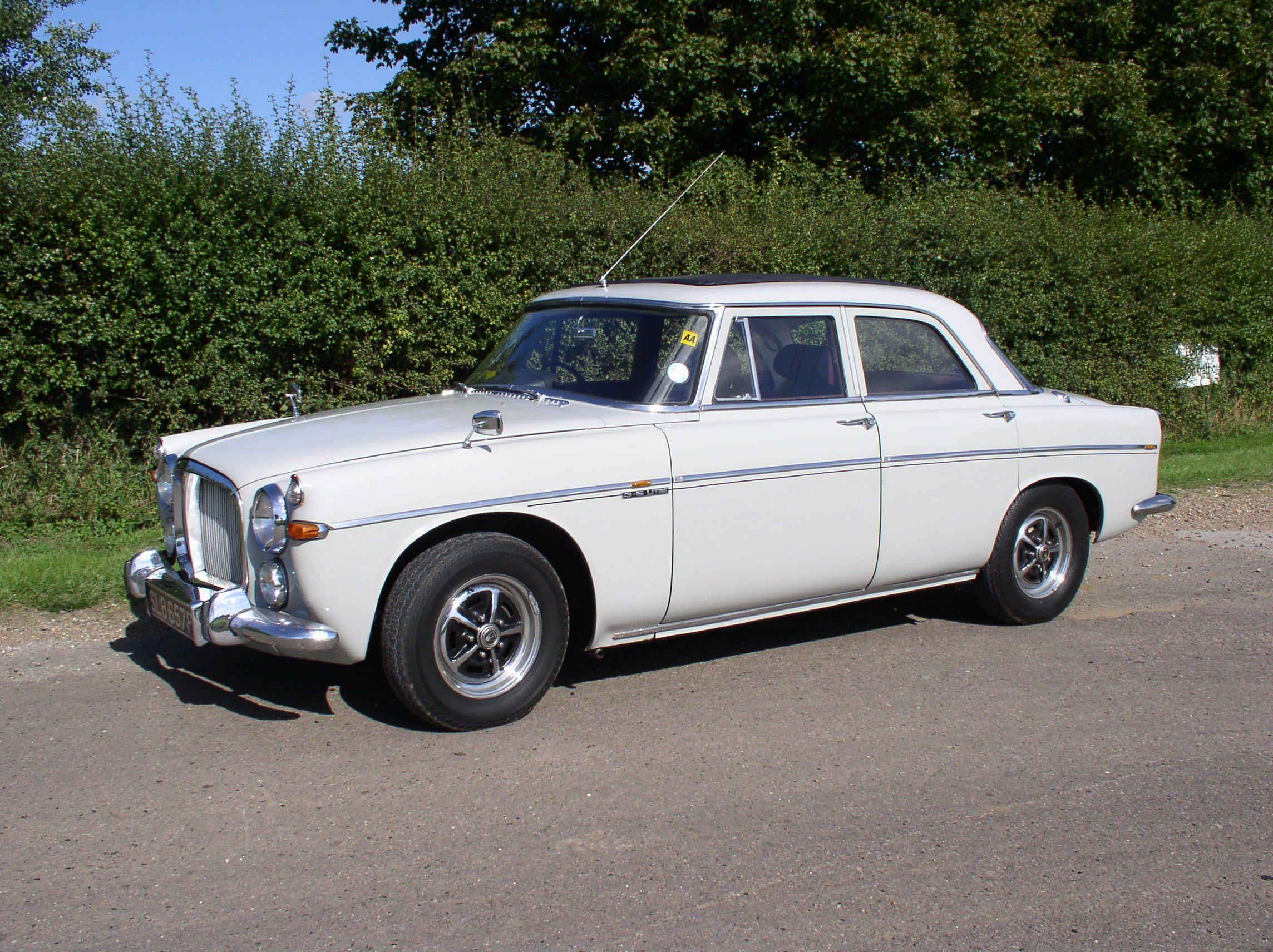 1968 - 1975 Rover P5 | Klassieke auto\'s | Pinterest | Price guide ...