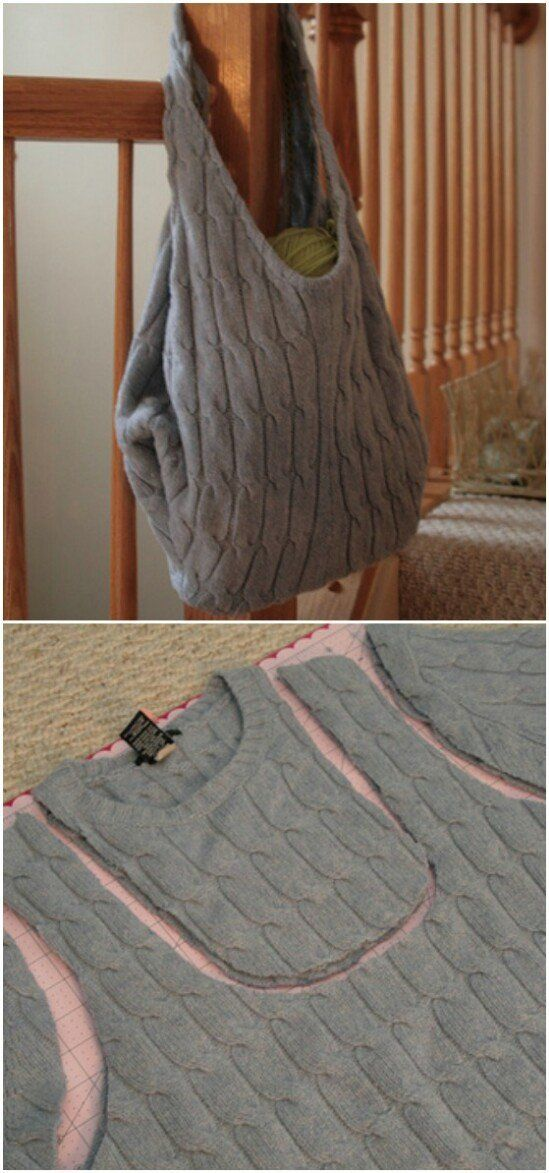 50 Amazingly Creative Upcycling Projects For Old Sweaters -   17 diy Clothes sweater ideas
