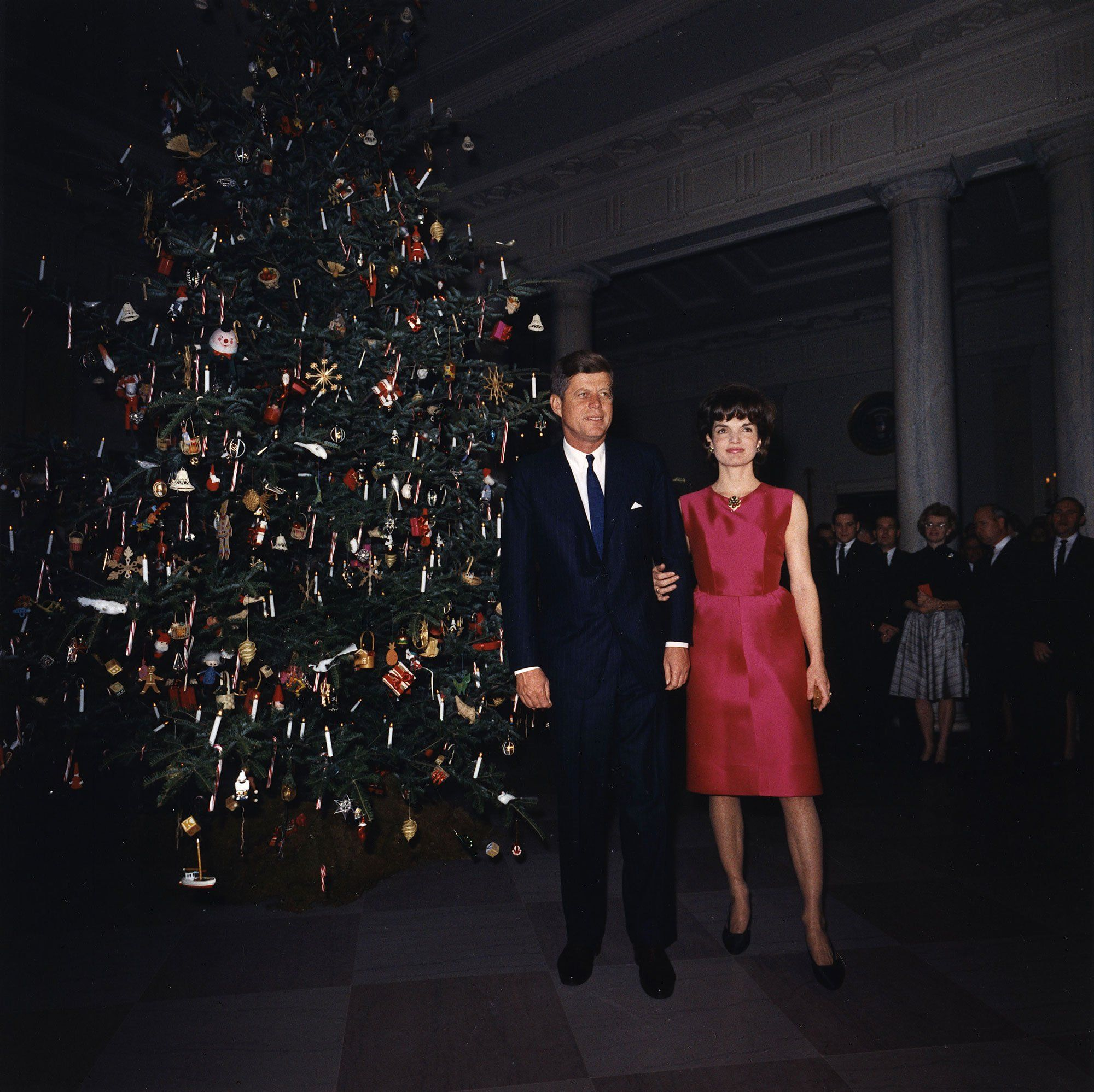 President John F. Kennedy and First Lady Jacqueline Kennedy, 1962