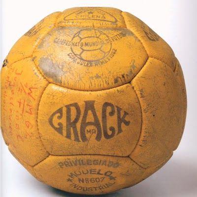 Balón oficial del Mundial de Chile de 1962 | FUTBOL