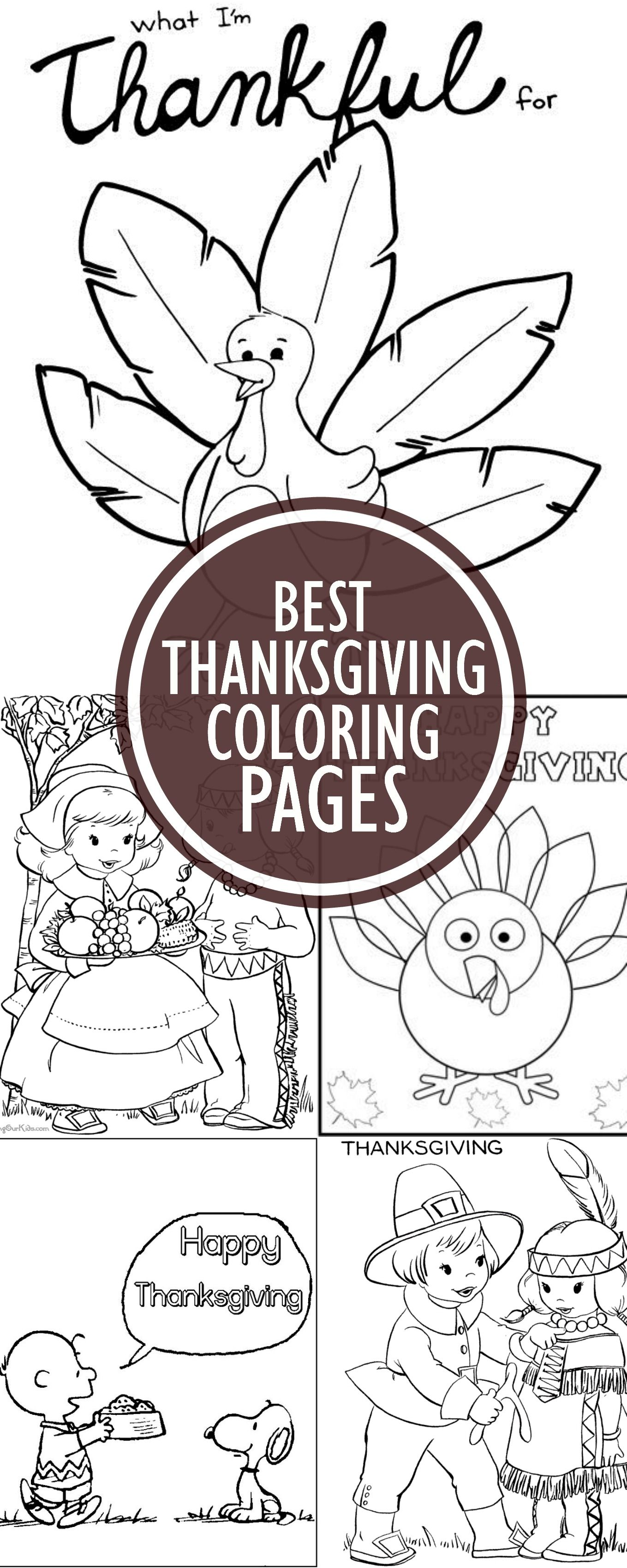 Top 10 Free Printable Disney Thanksgiving Coloring Pages Online ...