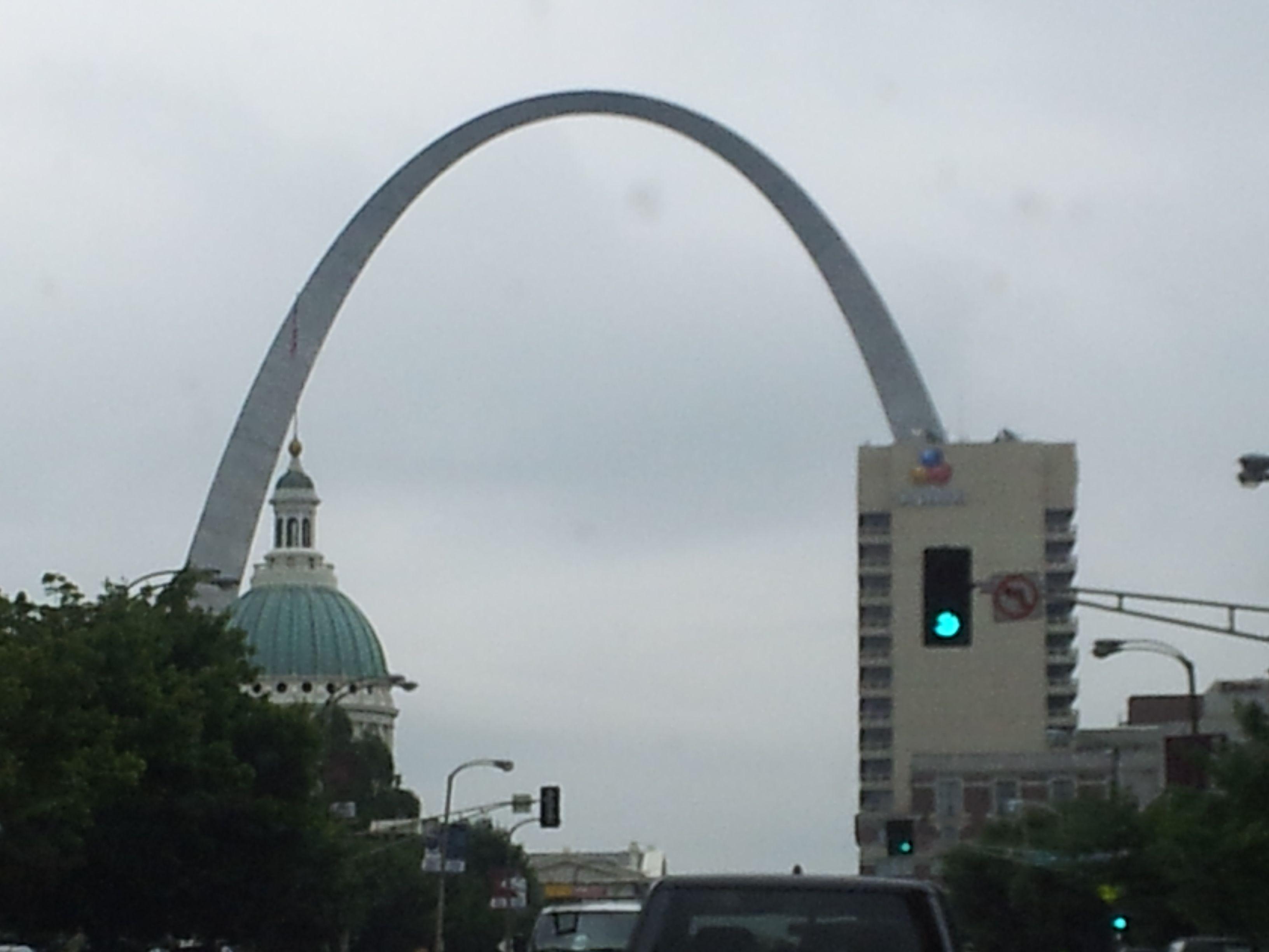 St Louis Arch Gateway to the West  Travel  Pinterest  Saint