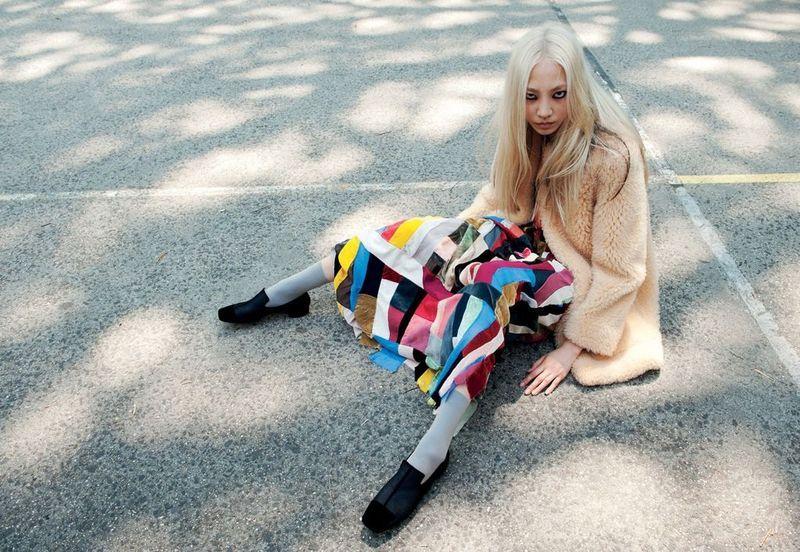 Grey Magazine F/W 12 / Ph: Caitlin Cronenberg / Stylist: Moreno Galata    Model: Soo Joo Park