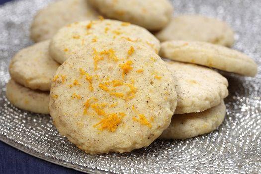 Cardamom Orange Zest Sugar Cookies (from baker Jeanne Nordstrom).