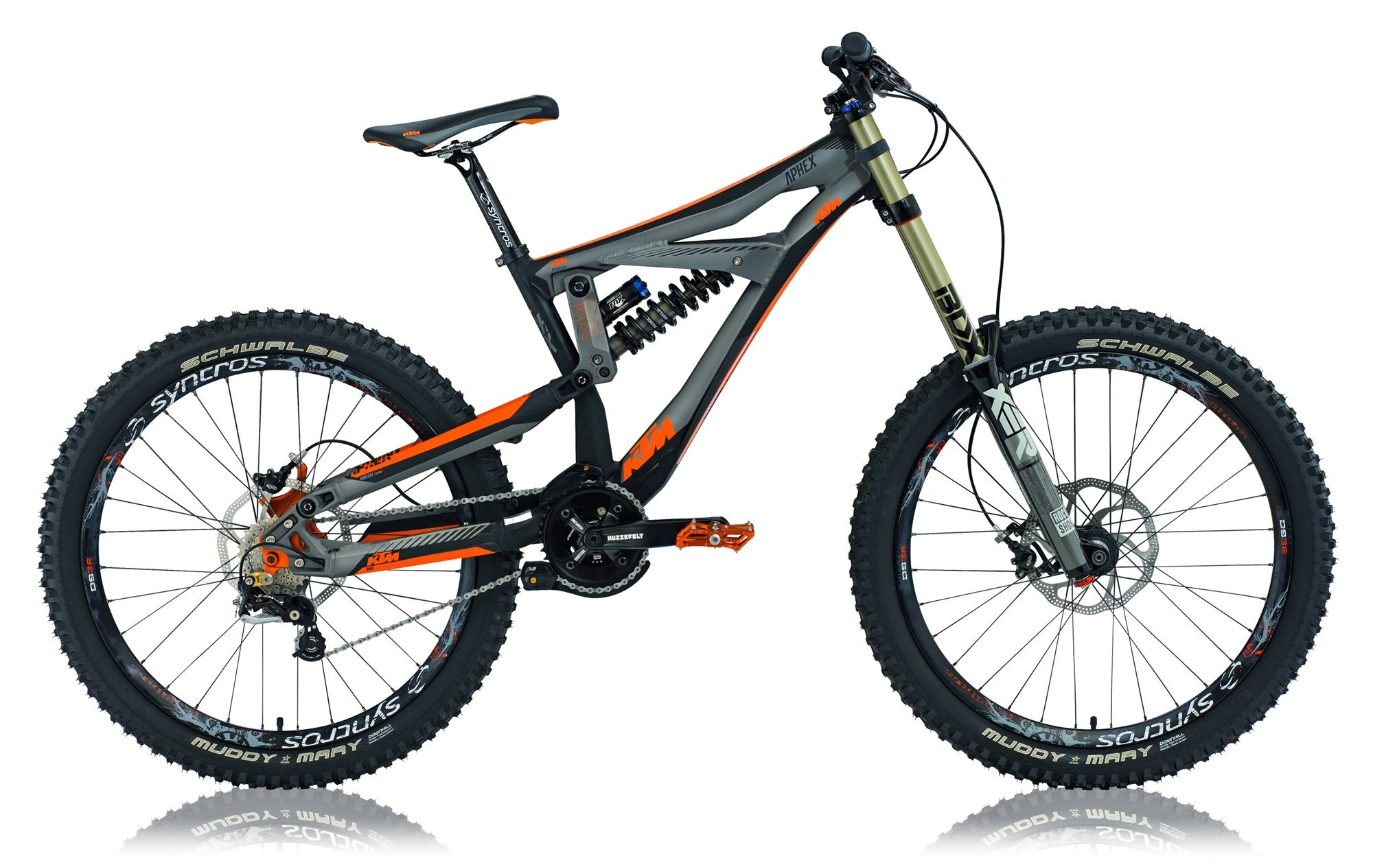 downhill bike ktm aphex 2012 mountain bikes. Black Bedroom Furniture Sets. Home Design Ideas