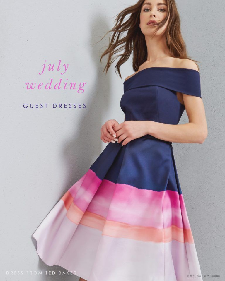 Stunning Wedding Guest Dresses: July Wedding Guest Attire Ideas: New Dresses To Wear This