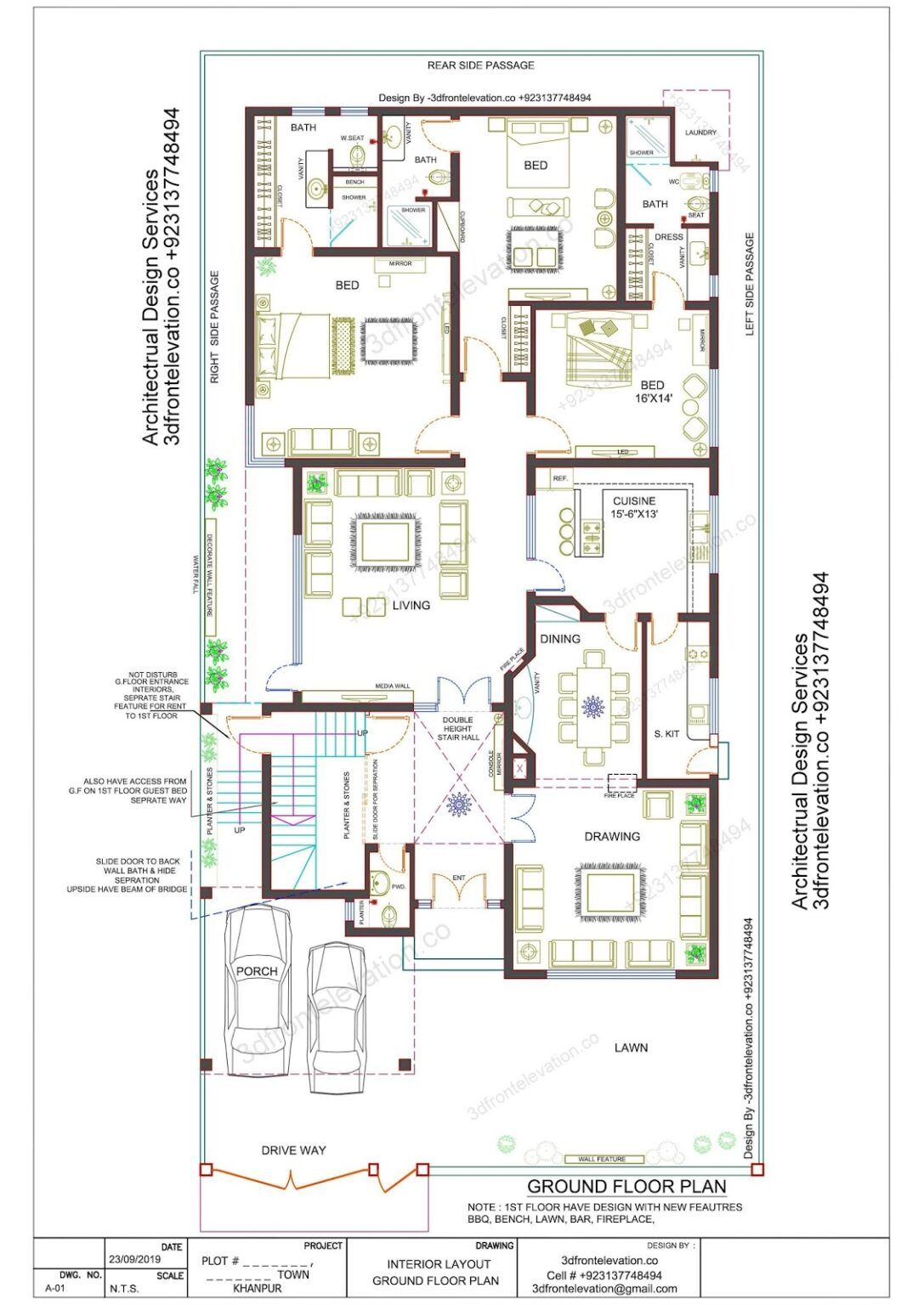 Best Architect How Get Professional Services 3dfrontelevation Co In 2020 Model House Plan House Layout Plans Floor Plan Design