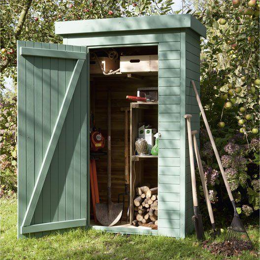 armoire_de_jardin_bois_helka_naturelle__l_131_x_h_197_x_p_69_cm au - Montage D Un Garage En Bois