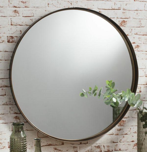 le grand miroir mural 25 idees pour d arrangement et decoration grand miroir mural rond de metale