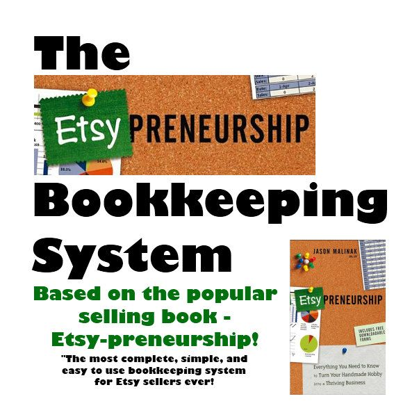 Bookkeeping Spreadsheet for Etsy Sellers - The Etsy-preneurship