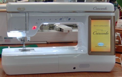 Baby Lock Crescendo Review Sewing Machine Quilting Baby Lock Sewing Machine Sewing Machines Best