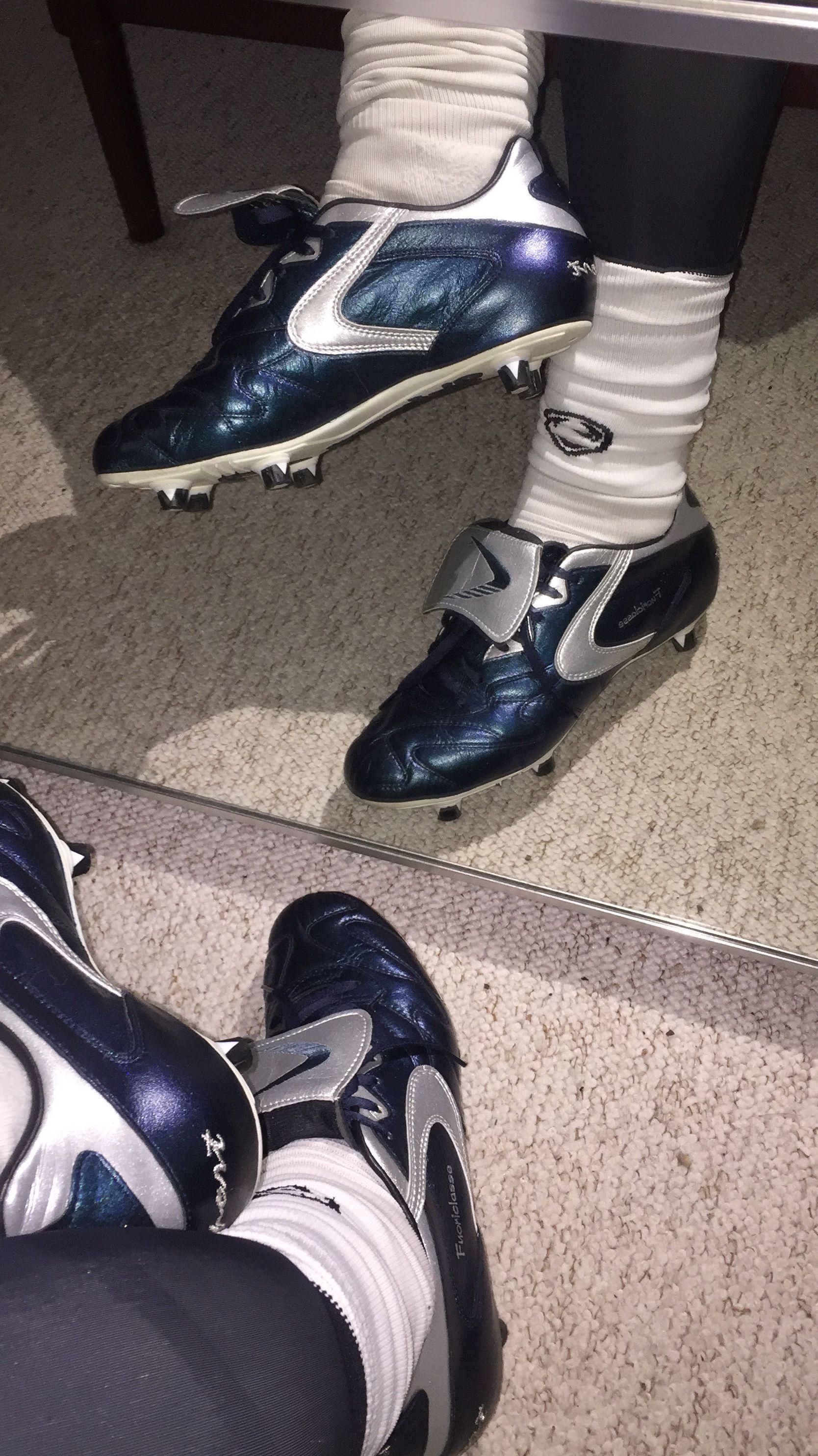 Nike Tiempo 94 Football Boots BlackWhiteDel SolGold