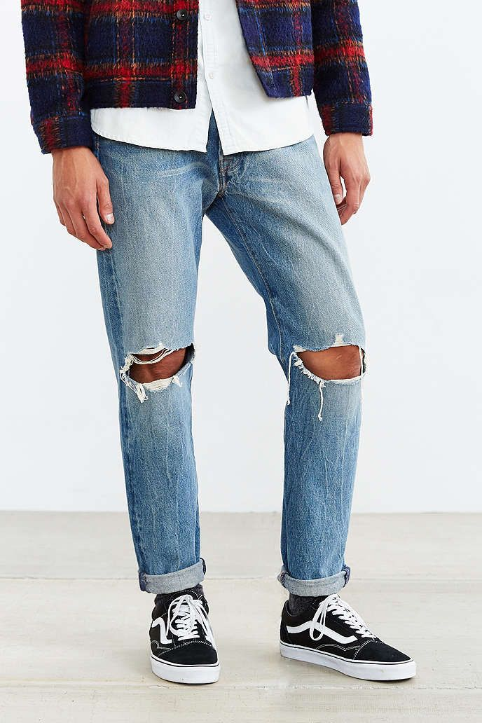 Levi's 501 Custom Tapered Broken Gate Jean