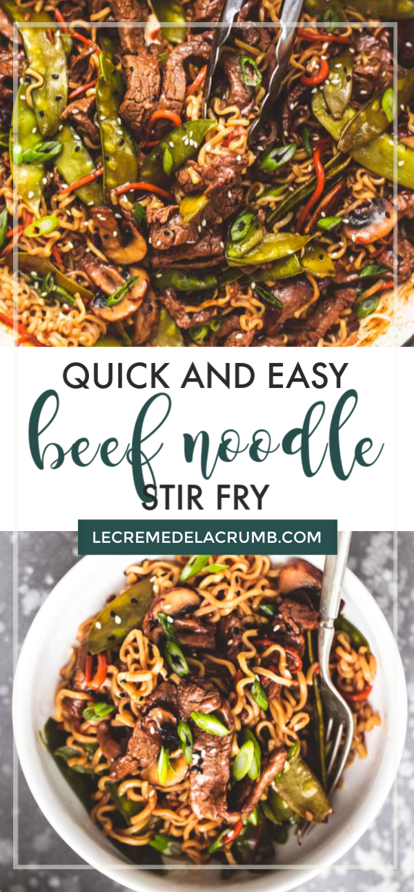 Quick & Easy Beef Noodle Stir Fry