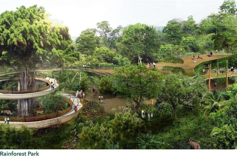 Mandai To Be Nature Hub With Five Wildlife Parks Resort Architecture Wildlife Park Ecotourism