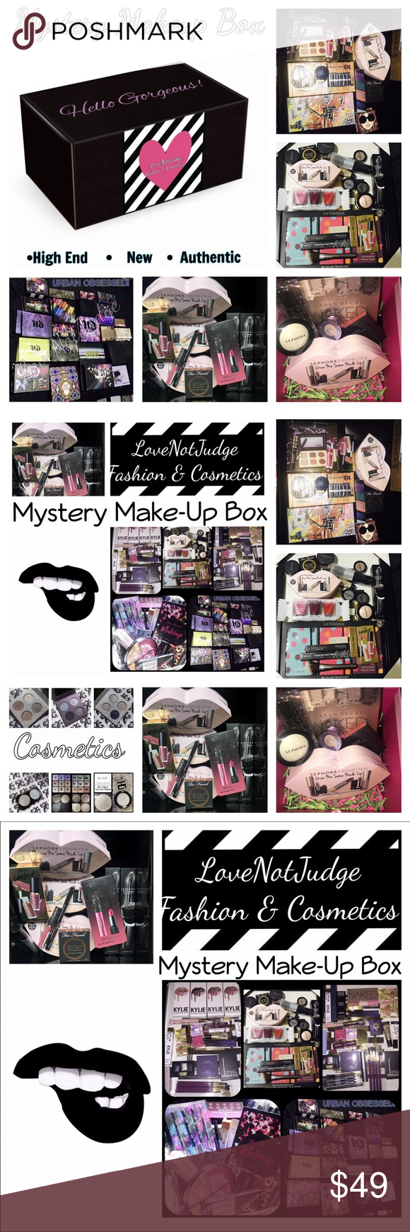 NEW! High End Makeup Mystery Box Makeup Mystery Box! 85