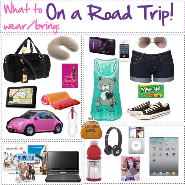 What to wear/bring: On a Road Trip! by aacorreia on ...