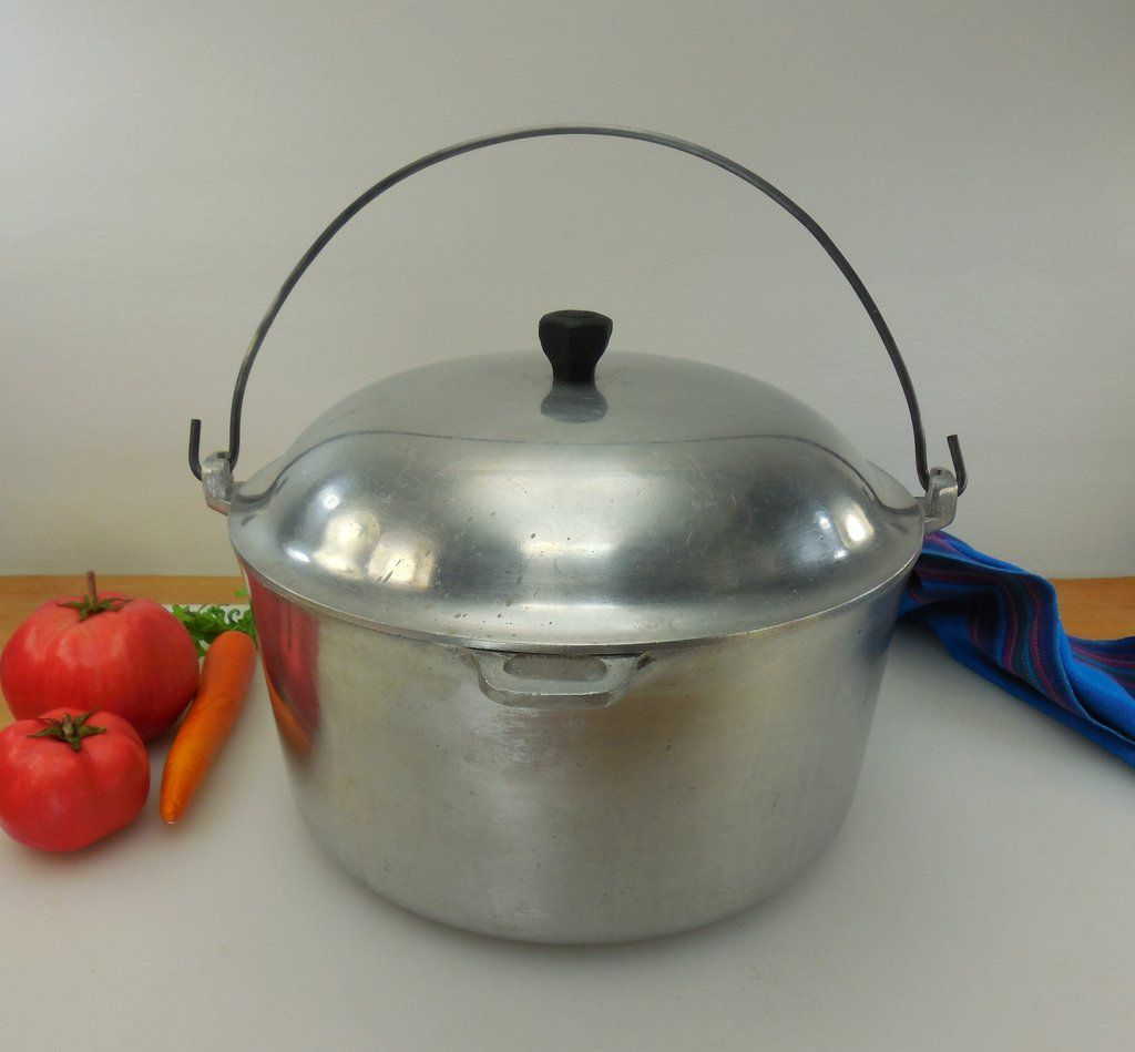 Household Institute 6 Quart Cast Aluminum Dutch Oven Stock Pot ...
