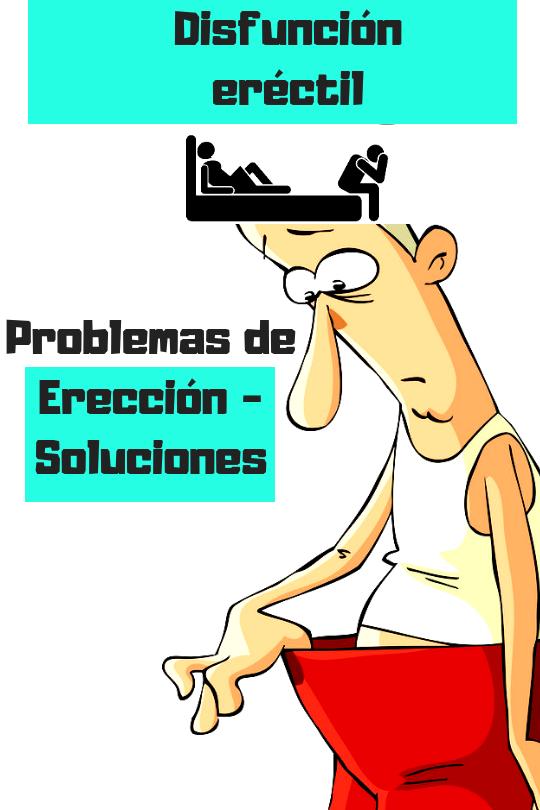 problemas de erección hombre d