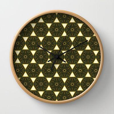 ethnic Wall Clock