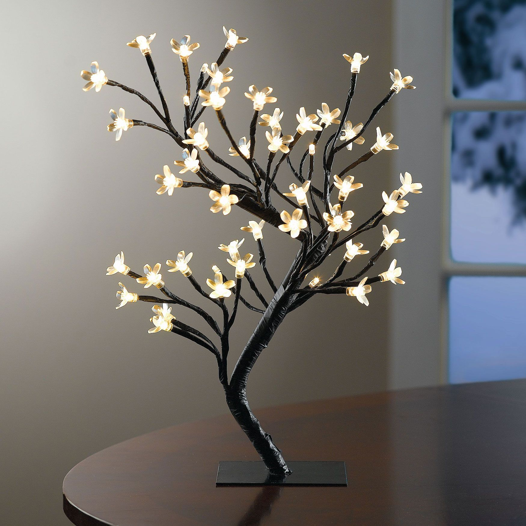 Pre Lit Cherry Blossom Tree Christmas Brylanehome Decor Indoor Outdoor Furniture Home Decor Furniture