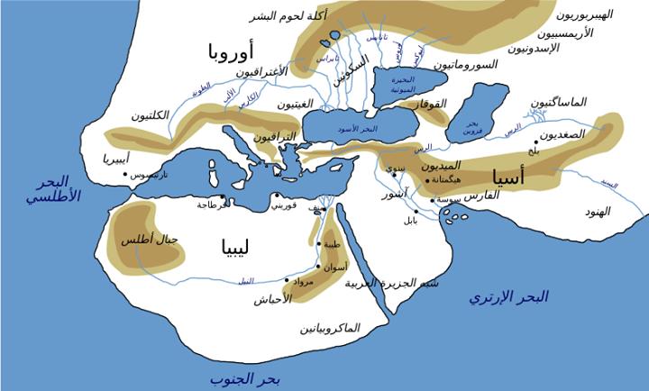 ليبيا القديمة دول شمال إفريقيا في الميثولوجيا الإغريقية ليبيا هي مثل ايبافوس أو سكيثيا كانت واحدة من الأراضي الخارجية الأسطورية التي Libya Ancient Maps Map