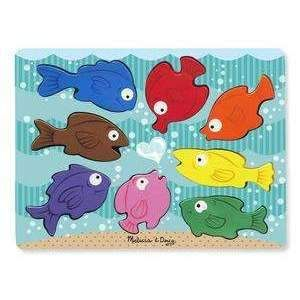 Chunky Puzzle: Colorful Fish