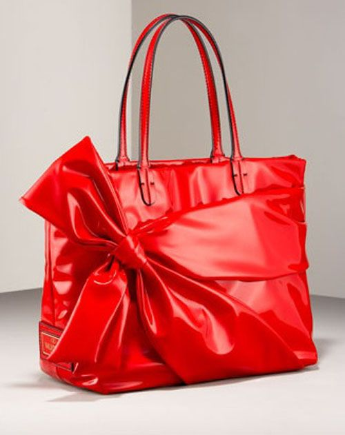 20f5ff29d1 Valentino Bow Tote Patent Leather Purse-the softest leather I've ever  touched on a purse!