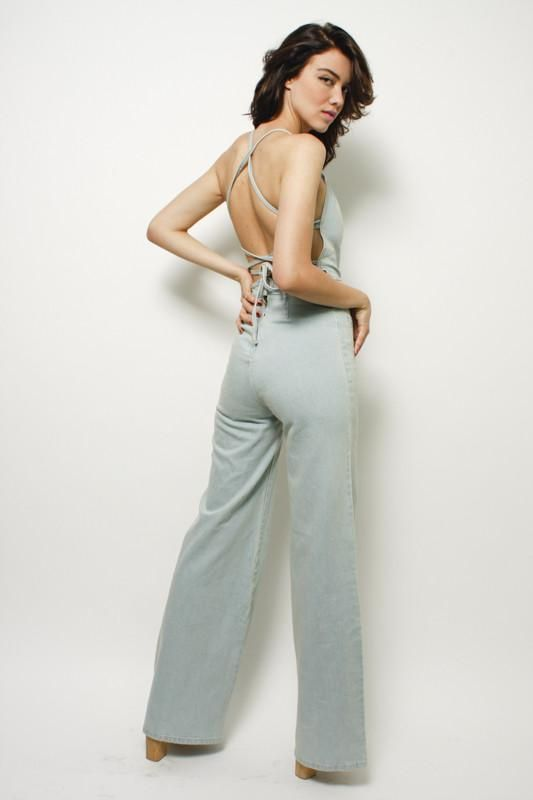 40716bbde40a STONED IMMACULATE JEAN GENIE JUMPSUIT
