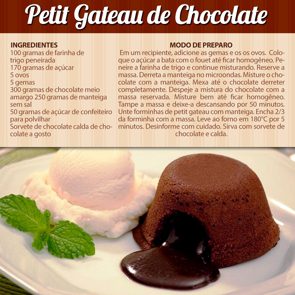 Photo of #PetitGateaudeChocolate Petit Gateau de Chocolate