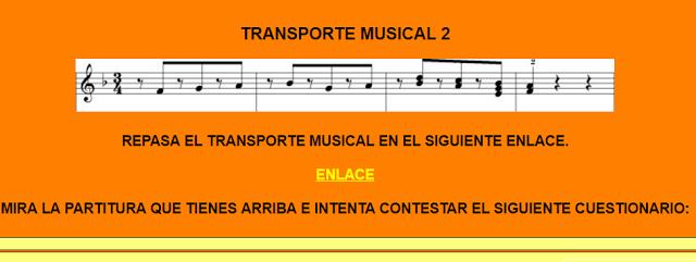 El Lenguaje Musical De Fátima El Transporte Musical Musical Educacion Musical Transporte