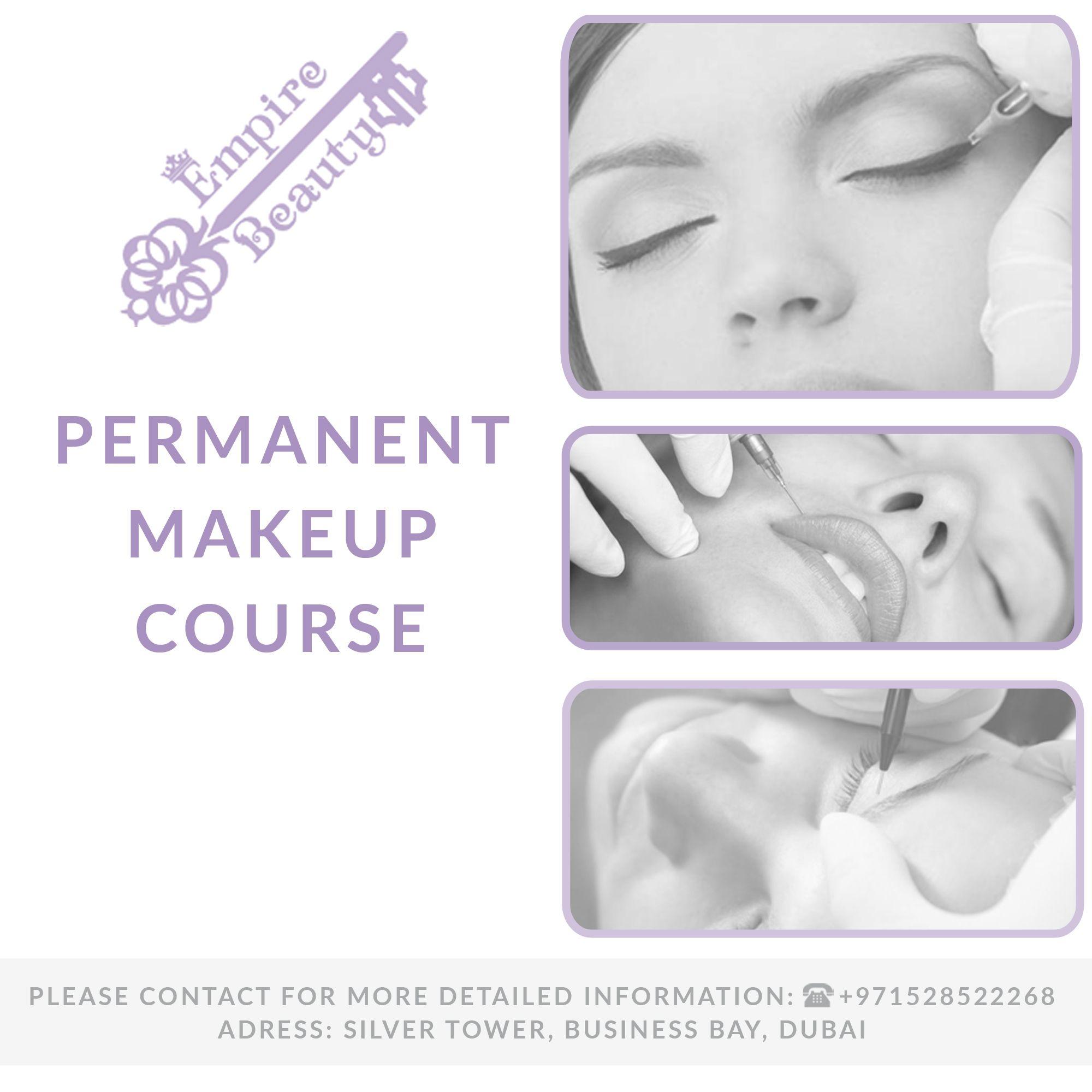 Permanent makeup training curses Permanent makeup courses