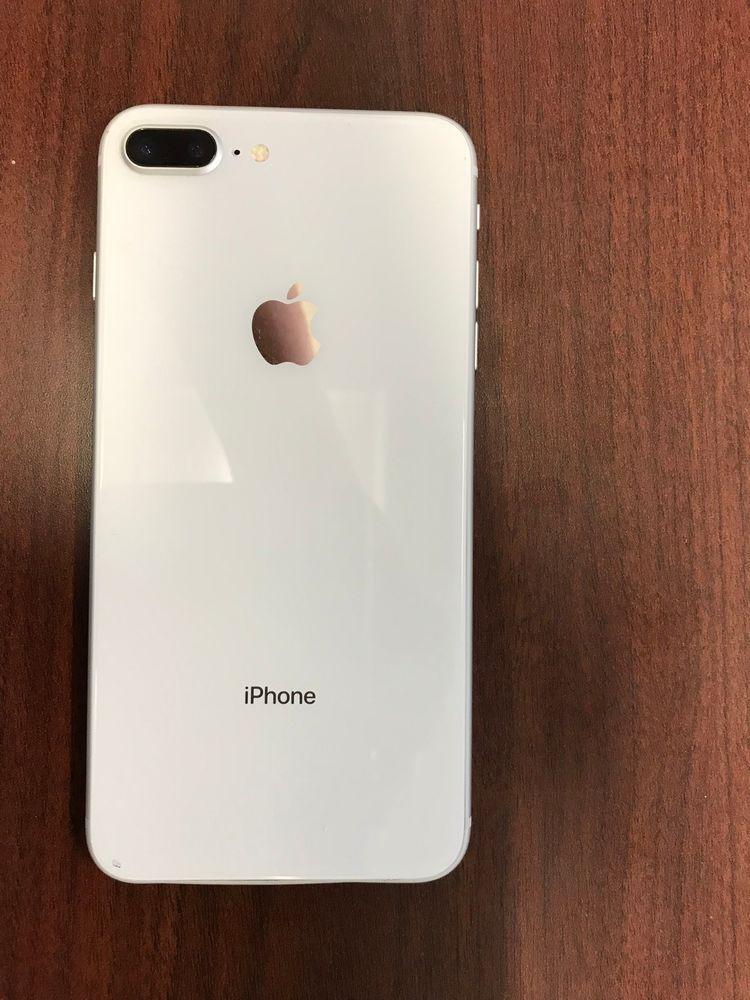 Apple Iphone 8 Plus 256gb Silver Verizon A1864 Cdma Gsm Iphone Apple Iphone Iphone 8 Plus